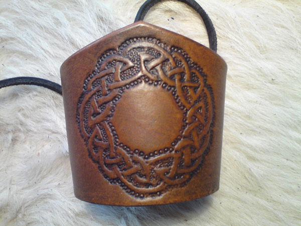 Lederwelten Knoten Kreis Muster