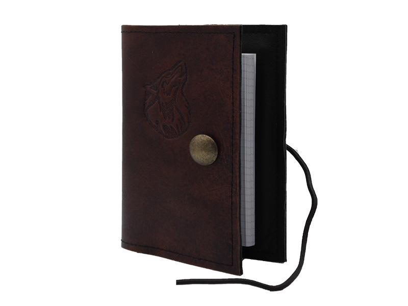 Lederwelten A6 Wolf Buch