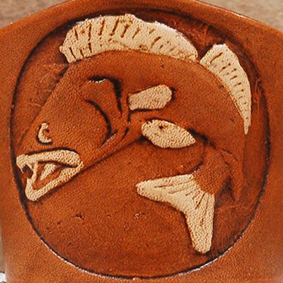 Lederwelten Fisch Armband