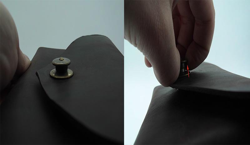 Lederwelten Handy-Gürteltasche Gürteltaschen dunkelbraun