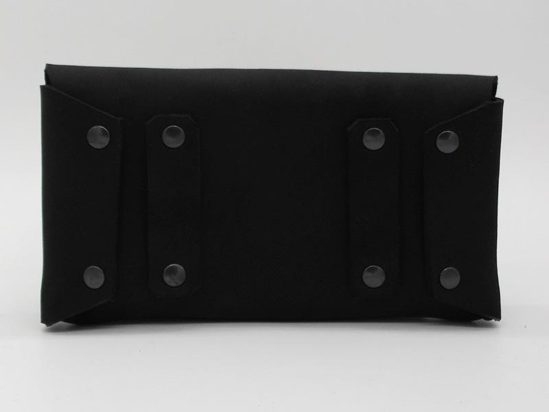 Lederwelten Handy-Gürteltasche Gürteltaschen schwarz