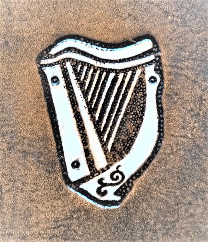Lederwelten keltische Harfe Gürteltaschen