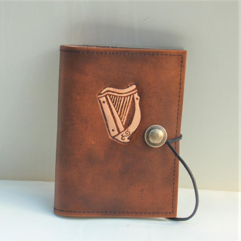 Lederwelten keltische Harfe Buch