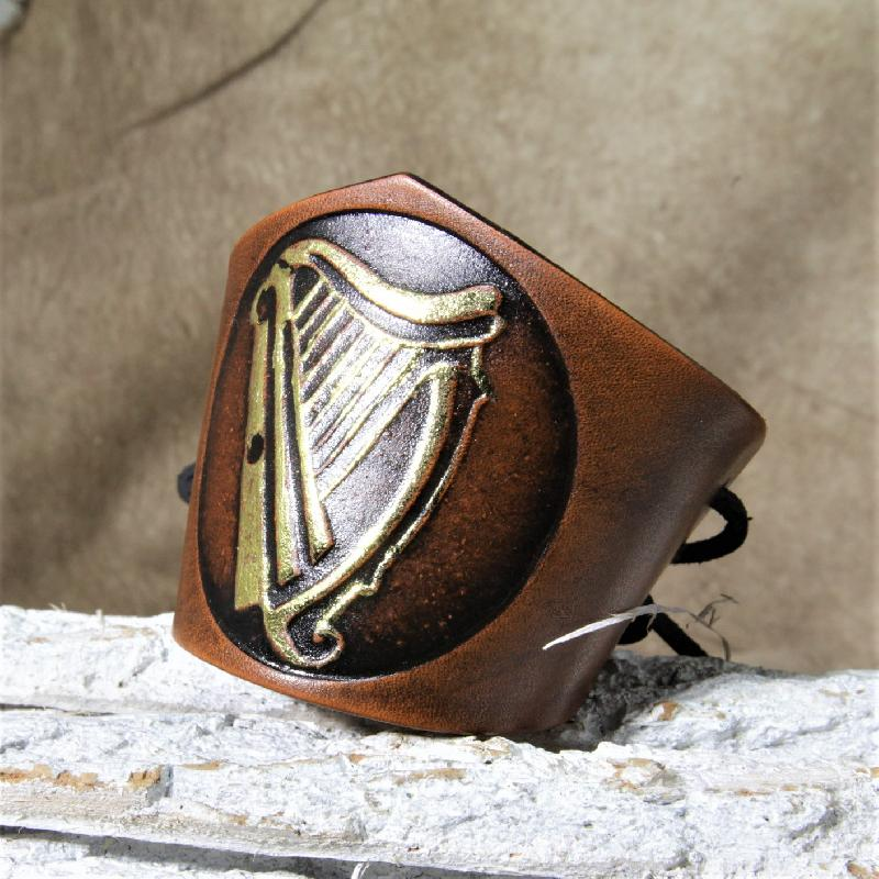 Spezielles keltische Harfe