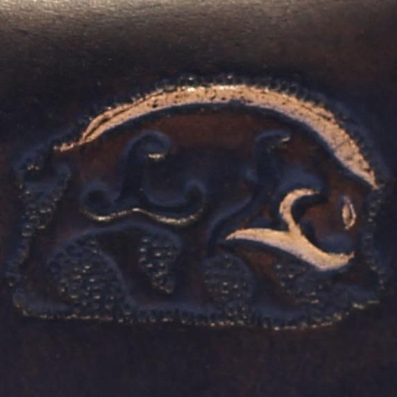 Lederwelten keltischer Eber Muster