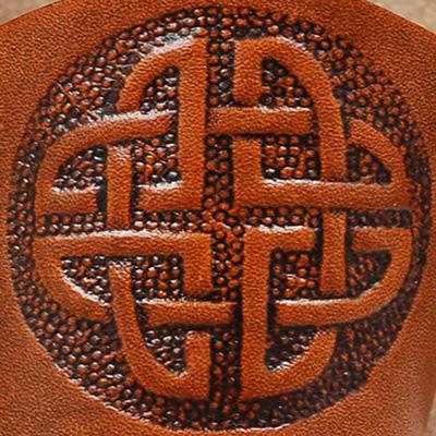 Lederwelten Keltischer Knoten Armband