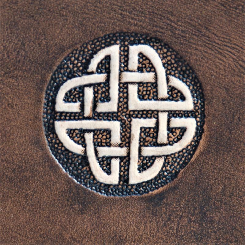 Lederwelten Keltischer Knoten Gürteltaschen