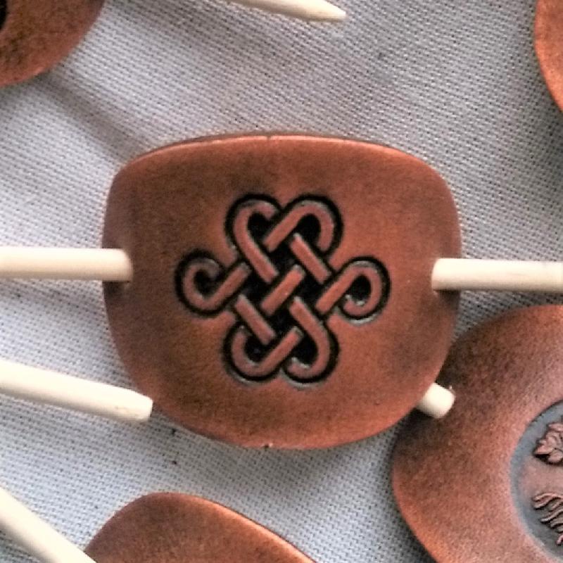 Haarspange Keltischer Knoten