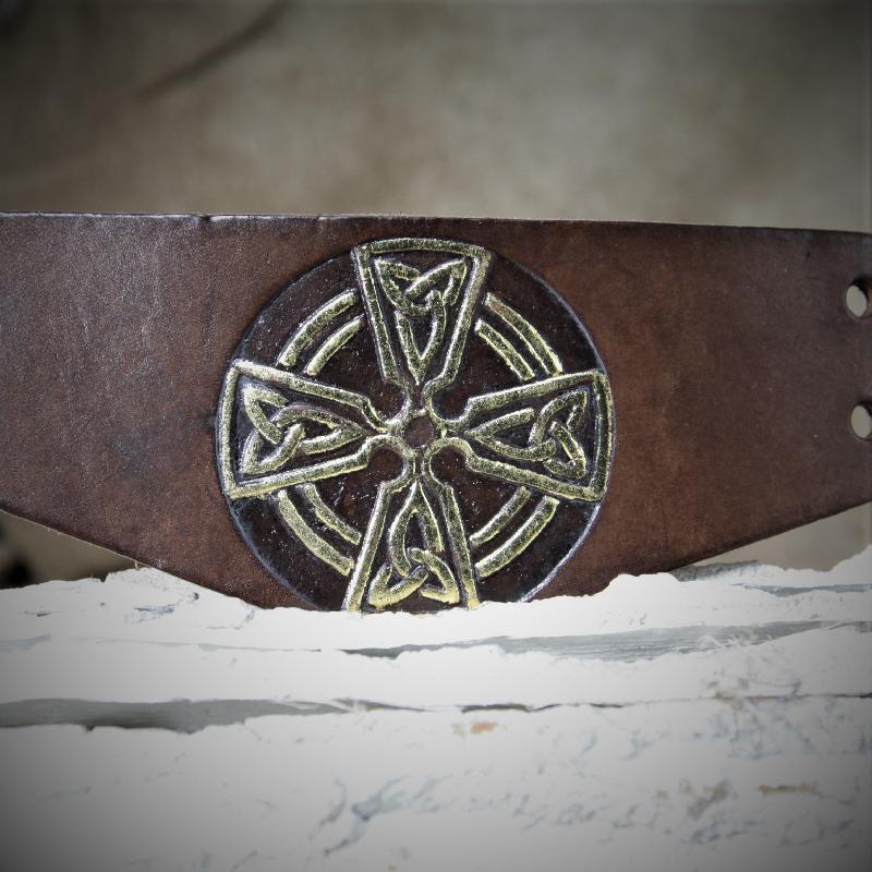 Spezielles keltisches Kreuz
