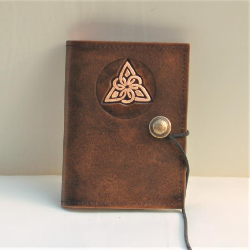 Lederwelten Knoten Dreieck Buch
