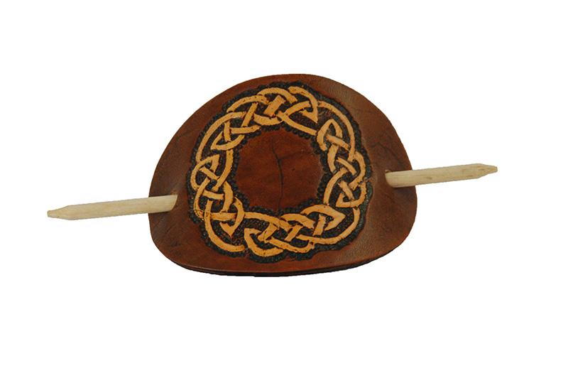 Haarspange Knoten Kreis