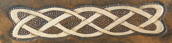 Lederwelten Knoten lang Gürteltaschen