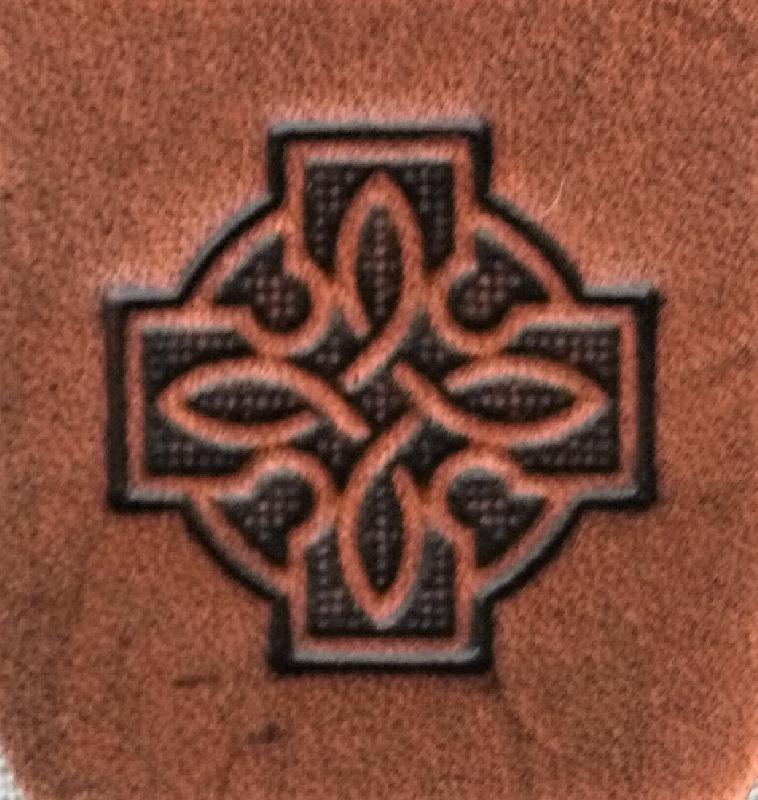 Lederwelten Kreuz Würfelbecher