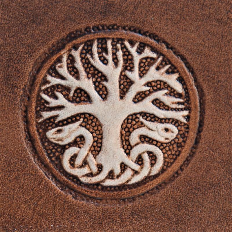 Lederwelten Lebensbaum Gürteltaschen