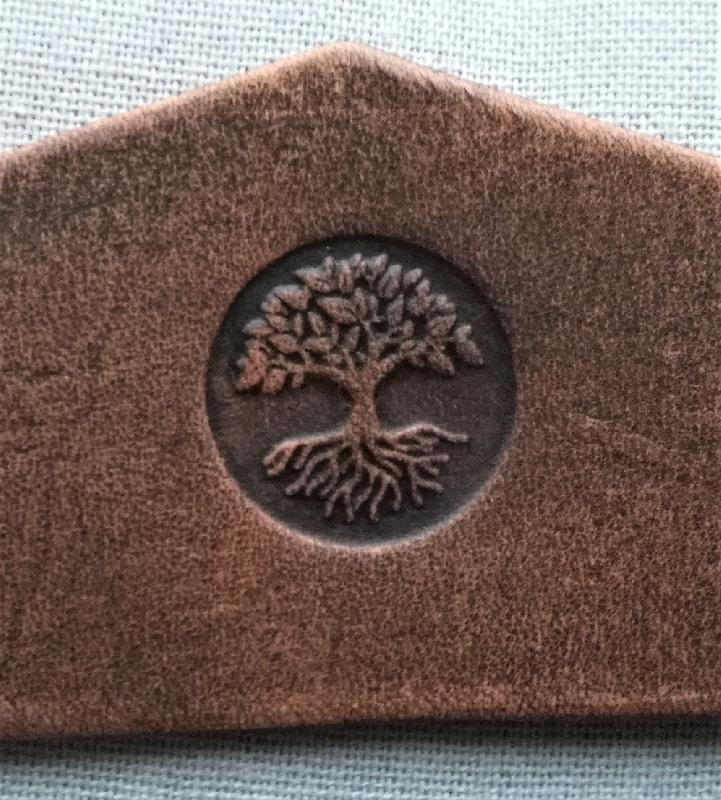 Lederwelten Lebensbaum Würfelbecher