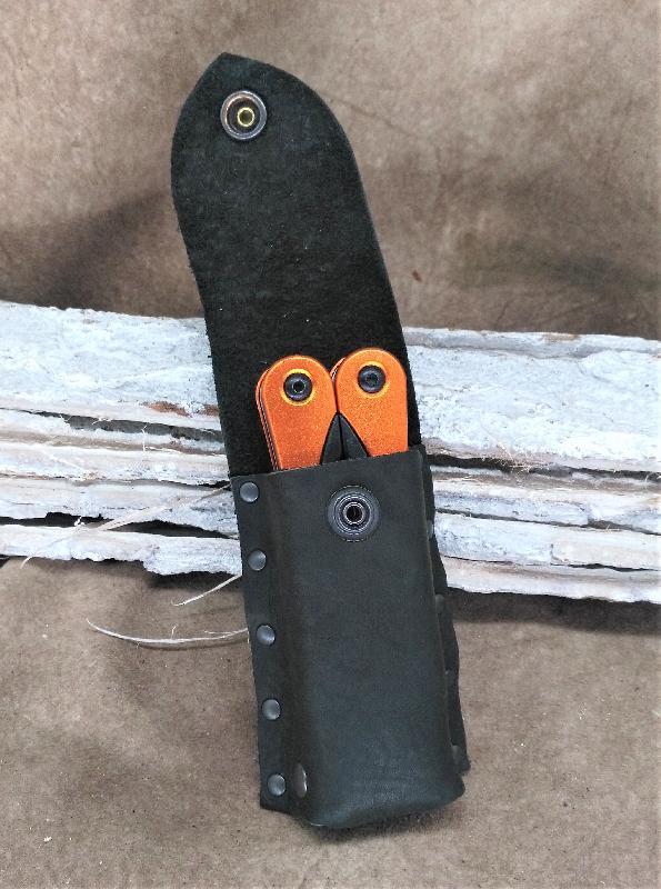 Lederwelten Messertasche Spezielles schwarz