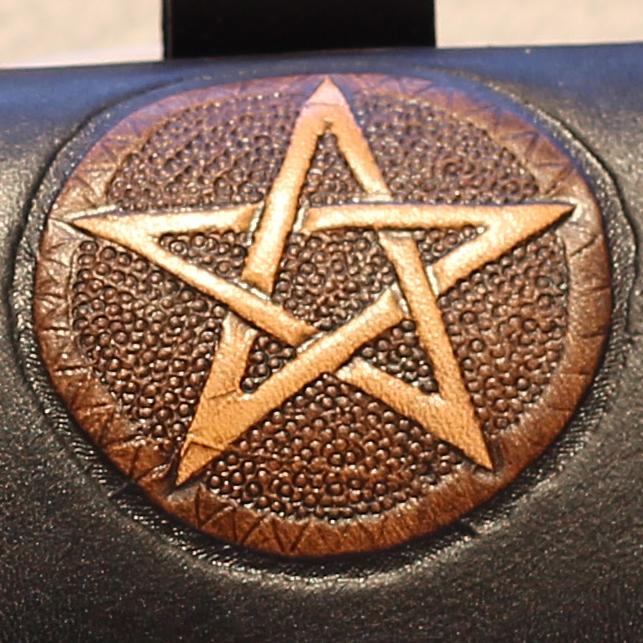 Muster Pentagramm groß