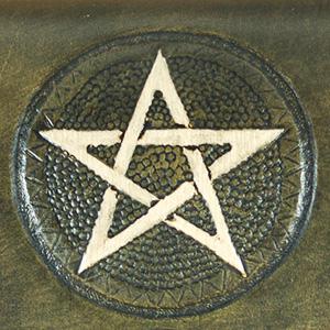 Lederwelten Pentagramm Gürteltaschen
