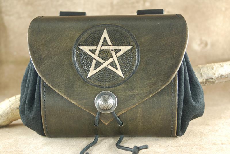 Gürteltaschen Pentagramm