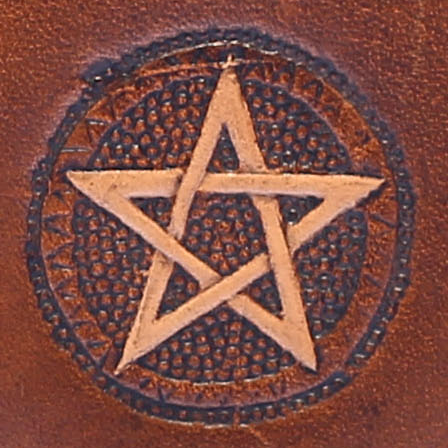 Muster Pentagramm klein