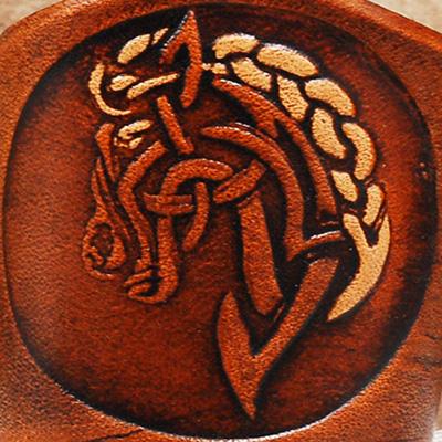 Lederwelten Pferd Armband