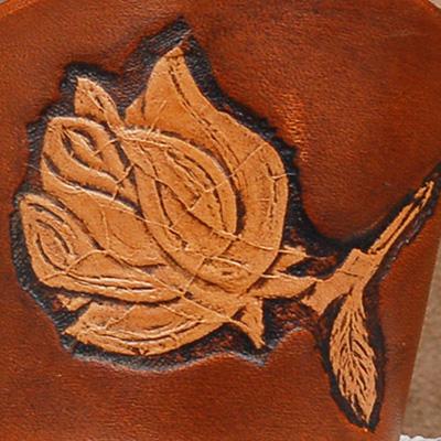 Lederwelten Rose Armband