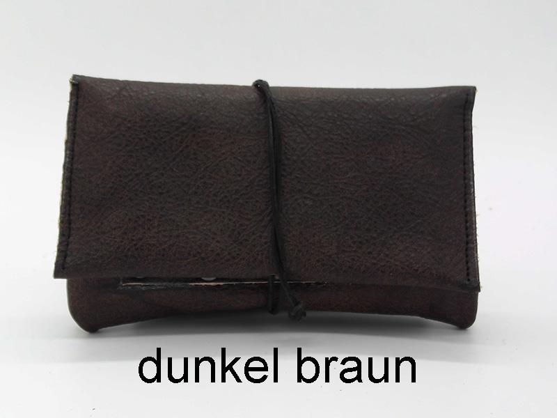 Lederwelten Tabak Tasche Etui Farbe wählbar