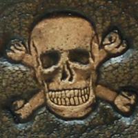 Lederwelten Totenkopf Würfelbecher
