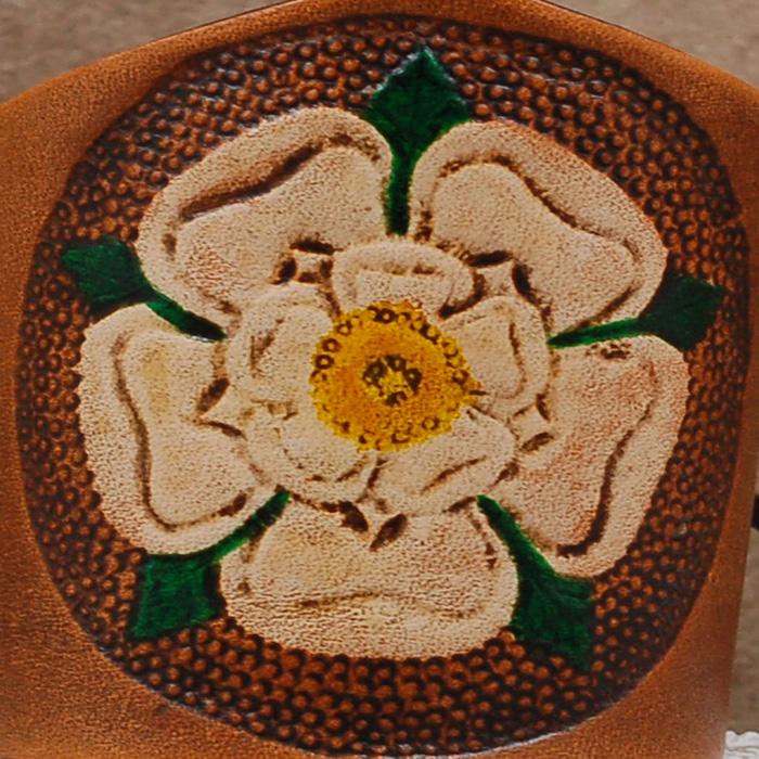 Lederwelten Tudor Rose Armband