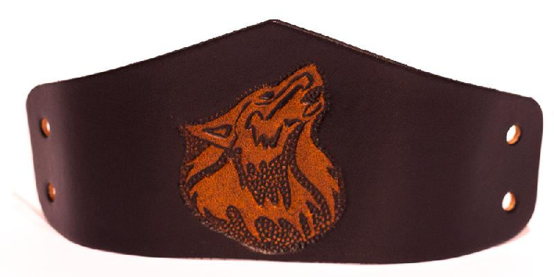 Lederwelten Wolf Armband